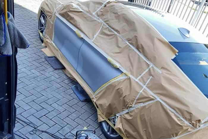 Klein schade auto BMW